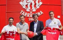 Jonathan Pereira i Juan Rodríguez van fitxar pel Nàstic «seduïts pel projecte»