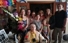 La vecina de Valls Maria Boronat celebra sus 100 años