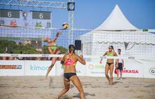 La Arrabassada se despide del Madison Beach Volley Tour