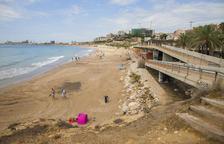 El Miracle es la playa de Tarragona que registra más robos a bañistas