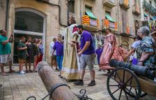 El cañón de las fiestas de Sant Roc dispara renovado después de 110 años
