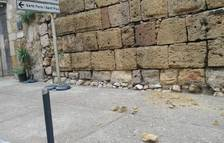 Nuevo desprendimiento en la Muralla de Tarragona