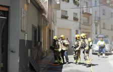 Crema el magatzem d'una perruqueria de Tivissa
