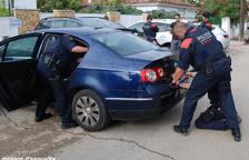 Desarticulat un grup dedicat al robatori i tràfic de motos assentat al Camp de Tarragona