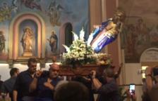 Aquest és el vídeo de la caiguda de la Mare de Déu en la fi de les Nits Daurades