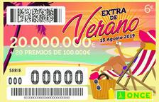 El Extra de Verano de la ONCE deja 160.000 euros en la demarcación de Tarragona
