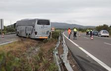 Donen l'alta als nou ferits en el xoc frontal entre un cotxe i un autobús a Amposta