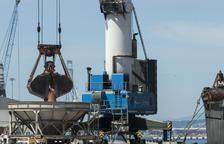 El Port de Tarragona aumenta un 4,9% el tráfico de mercancías entre enero y julio