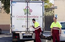Reus recupera 1.220 tones d'aliments aptes i que les botigues descarten