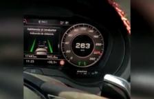 Condueix a 263 km/h per la C-33 i es grava en vídeo per penjar-ho a les xarxes socials