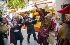 El nucli antic de Salou torna a l'Edat Mitjana amb la Festa del Rei Jaume I