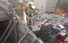 S'enfondra part d'una teulada en un bloc de Constantí