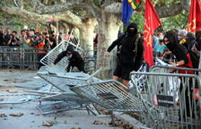 Els CDR es desvinculen de la concentració de la Diada davant del Parlament