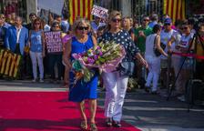 Es mantenen els actes a Tarragona en motiu de la Diada de l'Onze de Setembre, tot i la pluja