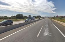 Cues de fins a tres quilòmetres per un accident a l'A-7 a Vila-seca
