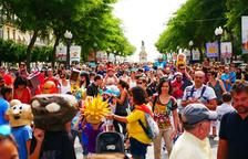 El centre de la ciutat celebra una Santa Tecla inclusiva