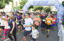La Peonada Popular de Santa Tecla aplega 1.100 esportistes pels carrers de Tarragona