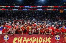 Espanya conquereix el seu segon or mundial de bàsquet passant per sobre l'Argentina