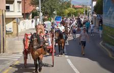 Més de cent cavalls i vint carros als Tres Tombs de la Canonja