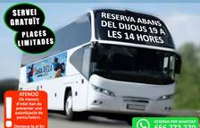 Constantí ofereix un servei de bus nocturn especial per Santa Tecla