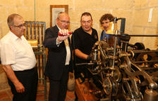 El Campanar de la Prioral de Sant Pere de Reus recupera el carilló i el rellotge de 1883
