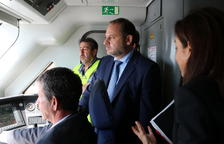 Calvet reclama «menys fotos» i «més pressupostos» a Ábalos després de la visita a Vandellòs