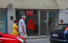 El centre de Tarragona i la Part Alta tenen 1.120 locals comercials buits