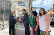El nou model de quiosc de l'ONCE arriba a Reus