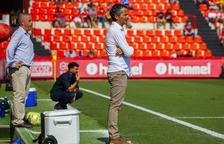 Bartolo: «Crec que el Nàstic ha estat mereixedor de la victòria amb claredat»