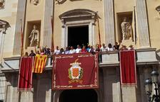 Polèmica a Tarragona per la retirada de l'estelada del balcó de l'Ajuntament