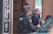 Llibertat amb càrrecs per a dos dels nou independentistes detinguts per la Guàrdia Civil
