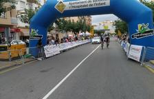 Baixa del podi en sonar l'himne espanyol en una competició de ciclisme de policies a Vandellòs