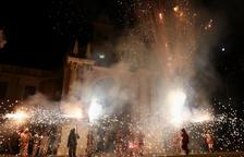 Prop de 170 diables i 6.000 carretilles il·luminen la Misericòrdia