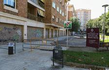 Comencen les obres pel tancament del parc del Seguici Festiu de Reus