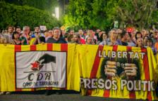 Tarragona y Reus se manifiestan en contra de las detenciones y encarcelamiento de los CDR
