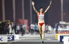Marta Galimany, setzena a la marató de la supervivència