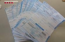 Els Mossos d'Esquadra detenen tres homes per falsificar receptes i traficar amb medicaments