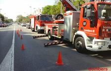 Tres ferits en un incendi en una cuina d'un restaurant de Vilafortuny