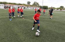 El Barça Academy comença la nova temporada al camp de Mas Iglesias, a Reus