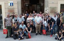 Els guanyadors de la campanya 'Barris antics' visiten l'Arboç