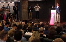 Crides a la unitat i retrets en l'acte de Societat Civil Catalana