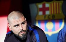 Víctor Valdés no viatja a la Pobla de Mafumet i no dirigirà al juvenil del FC Barcelona