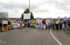 Los vecinos del Baix Gaià siguen presionando a la espera de una solución