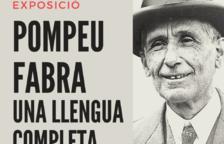 La Biblioteca de la Bisbal acull l'exposició 'Pompeu Fabra. Una llengua completa'