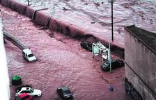Hace 25 años buena parte del Camp de Tarragona vivió bajo las aguas