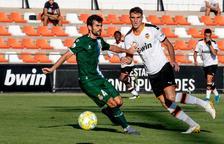 El Valencia Mestalla espera al Nàstic sense les seves dues referències
