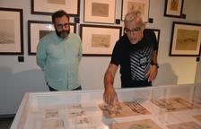 El Museu de Reus exposa dibuixos de Tapiró, Gaudí, Fortuny o Hortensi Güell