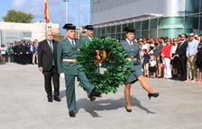 La Guàrdia Civil de Tarragona celebra la festa de la seva patrona