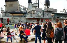 L'Infanta Cristina de l'Armada espanyola obre les seves portes el dia de la Hispanitat a Tarragona
