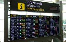 108 vuelos cancelados en el Prat con motivo de las concentraciones en contra de la sentencia